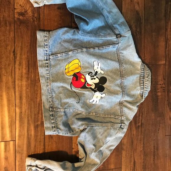 a34915a2cf Vintage Mickey Mouse Disney Denim Jacket - Women's